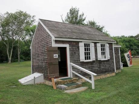 A Mashpee one-room schoolhouse.
